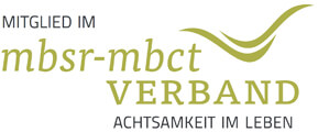 Zertifizierte MBSR-Trainerin / Logo des MBSR-Verbandes