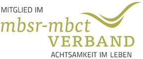 Logo des MBSR-Verbandes - Kerstin Strobel ist akkreditierte MBSR-Lehrerin